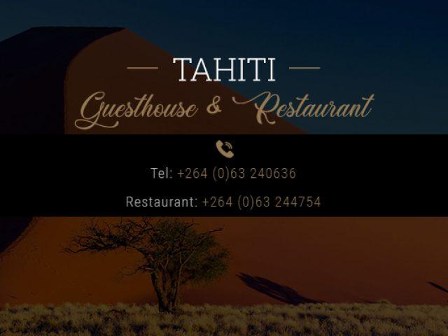 Tahiti Guesthouse & Restaurant